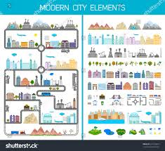 How To Design Your Own Map Elements Modern City Design Your Own Stock Vector Royalty