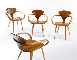 cherner furniture. Image 1 : Norman Cherner - Plycraft Group Of 4 \ Furniture
