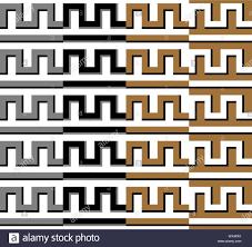 Grecian Key Design Greek Key Design Seamless Greek Texture Pattern Stock