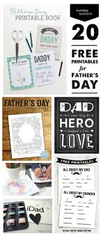 This free downloadable pack get creative with your text and incorporate a colored drop shadow with the help of the. 20 Free Fabulous Father S Day Printables Modern Parents Messy Kids
