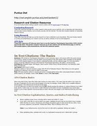 Purdue Owl Apa Dissertation Format Citation Thesis Atement