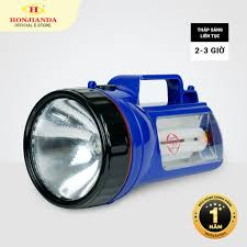 Đèn pin sạc tích điện xách tay Honjianda HJD-5700 - có chân đế sạc