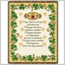 Wedding Blessing Quotes Gorgeous Irish Wedding Blessing Throw