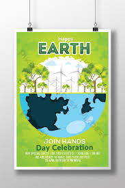 Go Green Earth Day Flyer Templates Template Psd Free