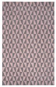 geometric geo05 rug grey and pale pink floor rugs by the rug retailer