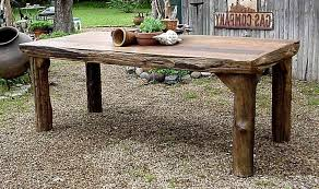 rustic wood furniture ideas. Fascinating Outdoor Dining Table Wooden Of Rustic Amazing Wood Furniture Room 14 All Ideas V