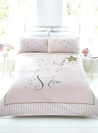 stars and stripes bedding set rose gold bedding brilliant wish upon a star pink gold stripe