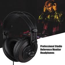 Open Design Headphones Us 28 99 36 Off Samson Sr850 Studio Monitor Headphones Dynamic Headset Semi Open Design For Recording Monitoring Music In Electric Instrument Parts