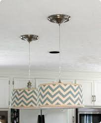 pendant lighting drum shade. DIY Drum Shade Pendants W/ Tutorial. Pendant Lighting D