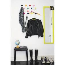 Coloured Ball Coat Rack Eames Inspired Hang It All White with MultiColoured Balls Coat 68