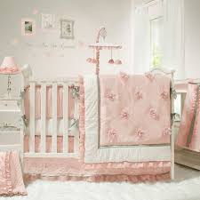 baby crib sheets for girls the peanut shell baby girl crib bedding set pink and white
