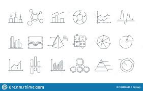Trending Graph Business Graph Icon Trending Charts Simple Linear Diagram