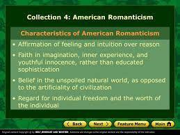 unit literary focus essays ppt video online  collection 4 american r ticism