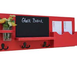Coat Rack Mail Organizer chalkboard mail organizer Roselawnlutheran 98