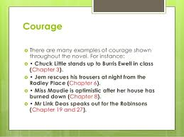 concerns themes and symbolism in tkam courage iuml130155 there