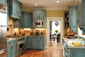kitchens with painted cabinetsDistressed Gray Kitchen Cabinets Chalk Paint Kitchen Cabinets
