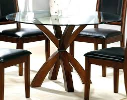 round glass top dining table glass top dining tables with wood base round glass top coffee