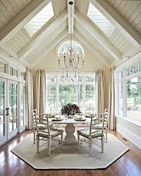 16 Ways To Add Decor To Your Vaulted Ceilings homesthetics decor (11)
