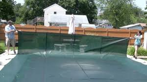 above ground pool covers you can walk on. Remove-cover Above Ground Pool Covers You Can Walk On