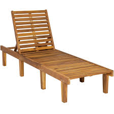 wood chaise lounge. Set Of 2 Acacia Wood Chaise Lounge