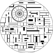 Small Picture Death Star Coloring Page In glumme