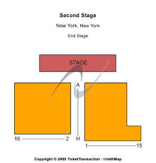 Second Stage Seating Chart Second Stage Theatre Tickets And Second Stage Theatre
