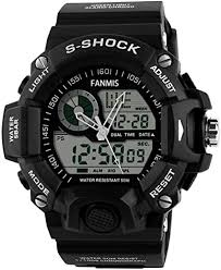 Mens Analog Digital Dual Display Sports Watches ... - Amazon.com