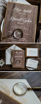 63 best luxury wedding invitations images on pinterest Wedding Invitations On The High Street unique real wood wedding invitation by penn & paperie woodland wedding invitation with wood envelope wedding invitations not on the high street