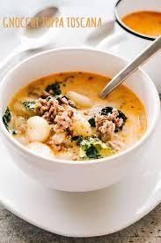 gnocchi zuppa toscana recipe