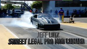 Jeff Lutz At Hot Rod Drag Week Youtube