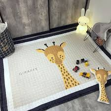 145x195cm cotton bedroom carpet animal lamb mat cartoon carpet kids room toy storage organizer crawling rugs diameter carpet kids room carpet animal bedroom