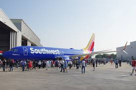 the first boeing 737 in southwest s new livery mal muir of southwest airlines seating chart 737 700
