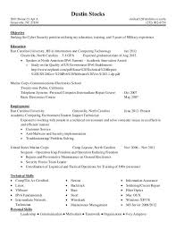 Cyber Security Resume Resume Templates