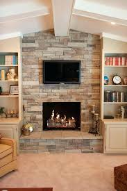 faux stone fireplace wall wonderful stacked stone veneer living room traditional with faux stone for faux