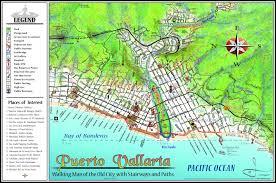 mapa jeff cartography puerto vallarta maps