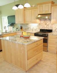 Kitchen Colors With Light Wood Cabinets Simple Inspiration Design