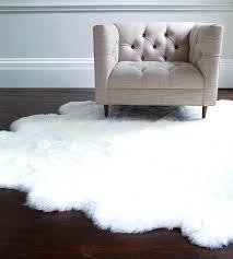 sheepskin area rug home dynamix faux sheepskin fur rug white