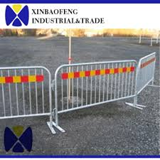 solid metal fence. Steel Road Barricade Solid Metal Fence Panel