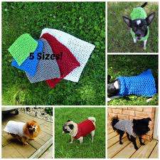 Free Crochet Dog Sweater Patterns New MandaLynn's Crochet Treasures Crochet Any Occasion Dog Sweater 48 Sizes