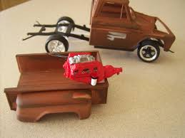 1965 Chevy Stepside Pickup   Plastic Dream Cars