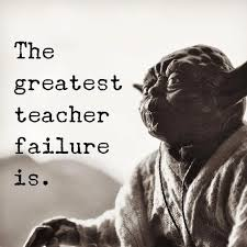 Yoda On Failure Truth Star Wars Quotes Star Wars Wallpaper