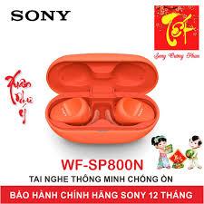 Mã ELMSHX03 hoàn 6% xu đơn 2TR] Tai Nghe Thể Thao Chống Ồn True Wireless  Sony WF-SP800N - Bảo Hành Chính Hãng 12 Tháng