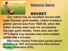 is my country 36 national game hockey