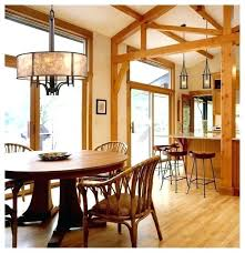 lodge lighting chandeliers rustic dining room lights home style