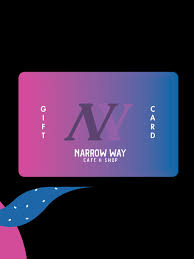 Offer is valid for consumer accounts in good standing and is subject to change without notice. Gift Card 50 Narrow Way Cafe