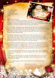 Letter From Santa And Father Christmas Letters Magical Santa