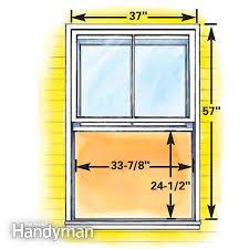 How To Plan Egress Windows The Family Handyman New Basement Bedroom Window Plans