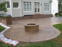 concrete patio designs with fire pit. Concrete Patio Designs With Fire Pit Fresh Outdoor Stamped C