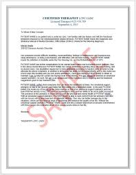 Therapist Reference Letter For Emotional Support Animals Esa Airlines And Housing