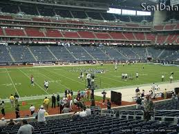 Reliant Seating Chart Football Houston Texans Nrg Stadium Seating Chart Interactive Map